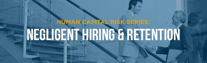 negligent hiring and retention