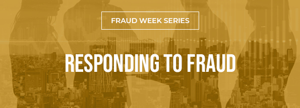 How Organizations Respond to Fraud